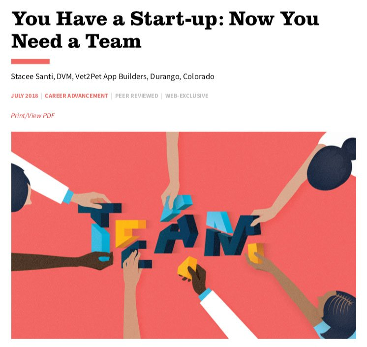 You Have a Start-up - Now You Need a Team