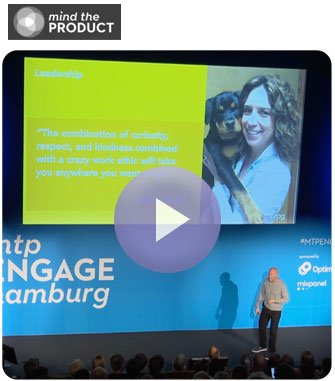 "Dr. Stacee Santi ft. in Marty Cagan ""Empowered Product Teams"" at Mind the Product 2019"
